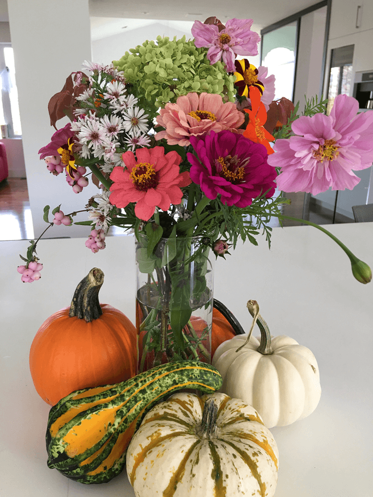 How to Create a Fall Centrepiece