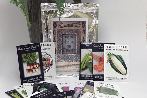 Baker Creek Heirloom Seed Collection Seed Contest