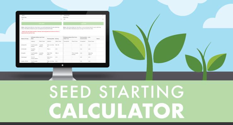 Seed Starting Calculator