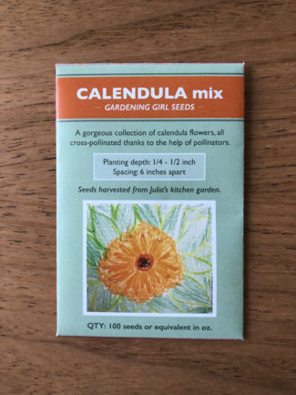 Calendula Mixed Seeds