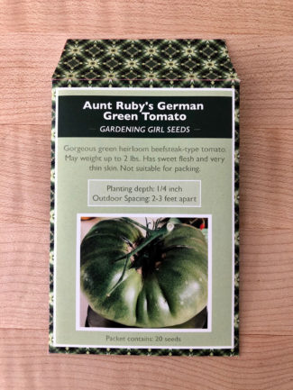 Aunt Rubys German Green Tomato
